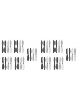 2 x Quantity of Radio Shack Surveyor Drone Black Clear Propeller Blades Props 5x Propellers Transparent - FAST FROM Orlando, Florida USA!