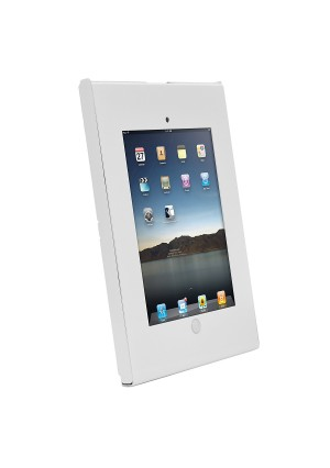 Pyle Kiosk Lock,Tamper Proof Mount for IPad 2/3/4/Air - Frustration-Free Packaging - White