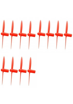 3 x Quantity of Cheerson CX-11 All Red Nano Quadcopter Propeller blade Set 32mm Propellers Blades Props Quad Drone parts - FAST FROM Orlando, Florida USA!