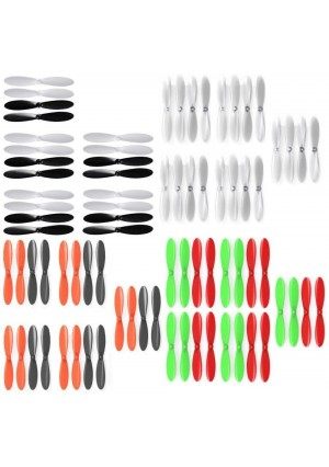 Ribeisi Toys GWT-X5C Star Aircraft Quadcopter Drone Propeller Blades Props Main Rotors Propellers Blade 20 Sets or 80pcs - FAST FROM Orlando, Florida USA!
