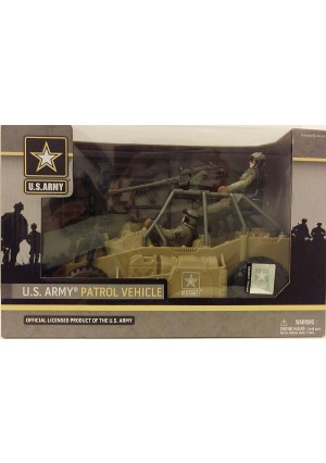 U.S. Army Patrol Vehicle (Official Licensed Product of the U.S. Army)
