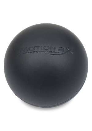 Massage Lacrosse Ball for Myofascial Release, Trigger Point Therapy, Muscle Knots, and Yoga Therapy