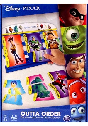 Disney Pixar Outta Order - The Game of Mixed-up Characters