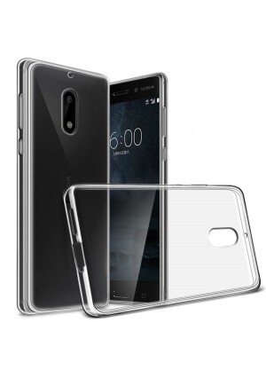 "Nokia 6 Case, Yiakeng Nature TPU Soft Cover Crystal Case Clear Skin Soft Case Slim Case for Nokia6 5.5""  (Clear)"