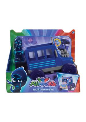 PJ Masks Vehicle and Figure - Night Ninja Bus
