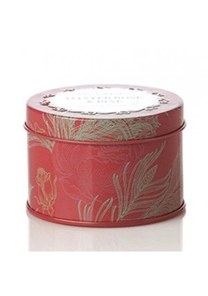 Rosy Rings Petite Tin (Winter Rose and Pine)