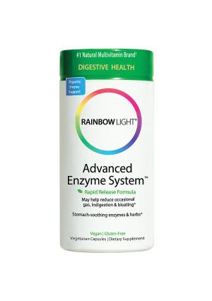 Rainbow Light Advanced Enzyme System, Vcaps