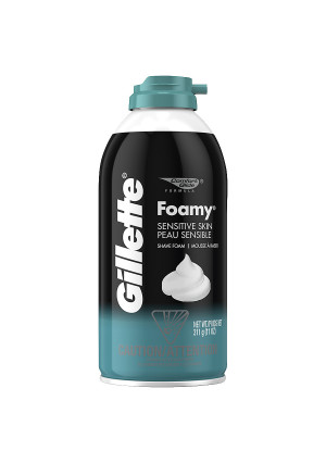 Gillette Foamy Sensitive Skin Shave Foam