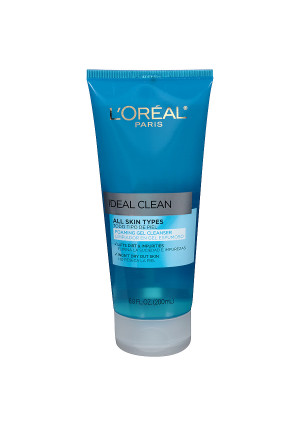 L'Oreal Paris Ideal Clean Daily Foaming Gel Cleanser