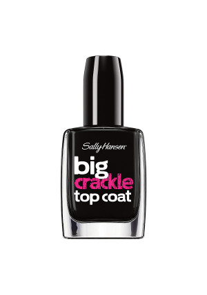 Sally Hansen Big Top Coat Treatment Crackle - Black On