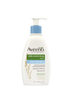 Aveeno Active Naturals Daily Moisturizing Lotion, Sheer Hydration
