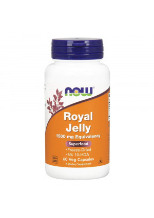 Now Foods Royal Jelly 60 Veg Capsules