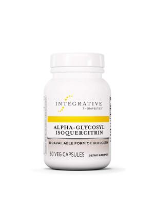 Integrative Therapeutics - Alpha-Glycosyl Isoquercitrin - Bioavailable Form of Quercetin - 60 Capsules
