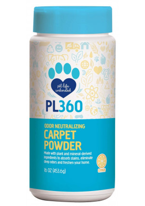 PL360 Odor Neutralizing Carpet Powder, 16oz