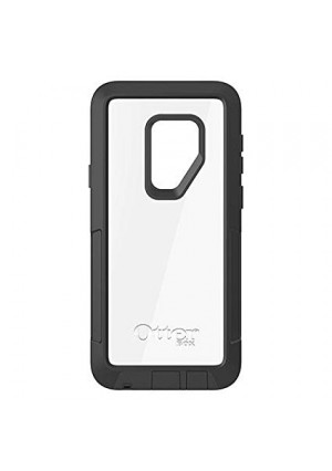 OtterBox Pursuit Series Case for Samsung Galaxy S9 Plus Black/Clear