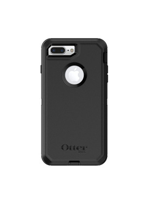 OtterBox 77-56825 DEFENDER SERIES Case for iPhone 8 Plus and iPhone 7 Plus (ONLY) - BLACK