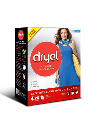 Dryel At-Home Dry Cleaner Starter Kit - 4 Loads