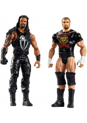 WWE Tough Talkers Roman Reigns and Triple H Figure, 2 Pack