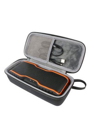 Hard Travel Case for AOMAIS Sport II II+ Portable Wireless Bluetooth Speakers by co2CREA (black)