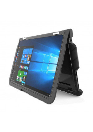 Gumdrop Cases Droptech Chromebook Case for Dell Chromebook 11 3189 Rugged Shock Absorbing Cover Black