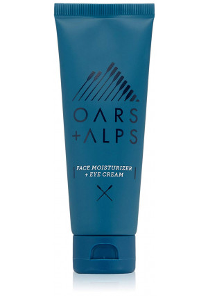 Oars + Alps Daily Natural Face Moisturizer and Eye Cream | Ultra Hydrating, Non Greasy, Anti-Aging, All Skin Types 2.5 fl oz
