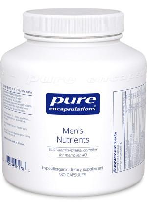 Pure Encapsulations - Men's Nutrients - Hypoallergenic Multivitamin/Mineral Complex for Men over 40-180 Capsules