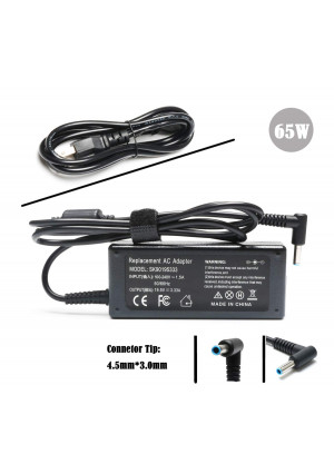 PA-1650-32HE New AC Power Adapter Charger for HP Chromebook 14 Series Notebook PC,HP Pavilion 15;P/N: 740015-003 741727-001 ADP-45WD B ADP-45FE B PA-1450-36HE PA-1650-32HE- 19.5V 3.33A 65W