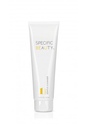 Specific Beauty  Daily Gentle Cleanser  Non Foaming, Light Fragrance, Oil and Dirt Extracting Wash  90 Day Supply/4.5 Ounces