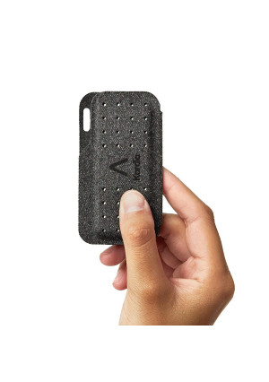 Alivecor Kardia Mobile Carry Pod Carrying Case | Travel Case Features Magnetic Closure to Keep Kardia Device Safe On-The-Go | Fits in Pocket or Purse or Attaches to Keyring