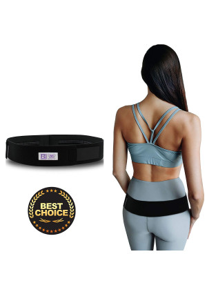 """Everyday Medical Sacroiliac SI Joint Support Belt For Pelvic and SI Pain Relief - Supports the Sacroiliac Joint - Alleviates Hip Pain, Lower Back, Sciatica, Lumbar And Discomfort-Standard (30-43""""Hips)"""