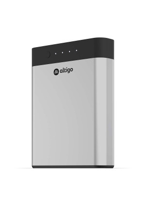 Altigo 13400mAh Portable Charger (USB Power Bank | Battery Pack)  with Dual USB C and Micro USB Input and 2 Port High Speed Output  Compatible with iPhone, Samsung Galaxy, Kindle Fire and More ...
