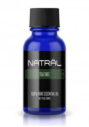 NATRL Tea Tree, 100% Pure and Natural Essential Oil, Large 1 Ounce Bottle