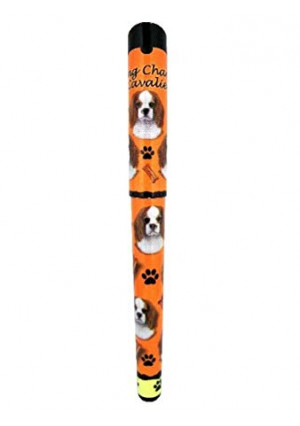 EandS Pets King Charles Cavalier Pen Easy Glide Gel Pen, Refillable With A Perfect Grip, Great For Everyday Use, Perfect King Charles Cavalier Gifts For Any Occasion