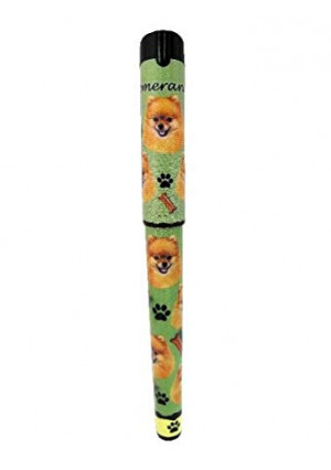 EandS Pets Pomeranian Pen Easy Glide Gel Pen, Refillable With A Perfect Grip, Great For Everyday Use, Perfect Pomeranian Gifts For Any Occasion