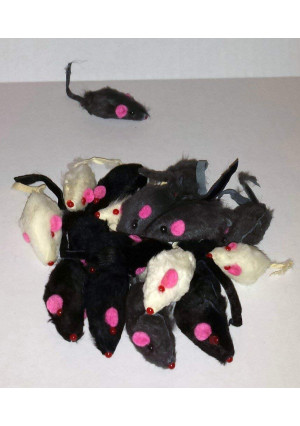 HDP Furry Mice cat toy