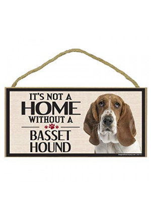 Imagine This Wood Sign for Bassett Hound Dog Breeds