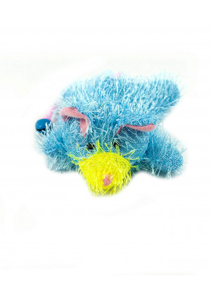 Amazing Cat Products Catnip Toy with Bell, Blue, 1-pack