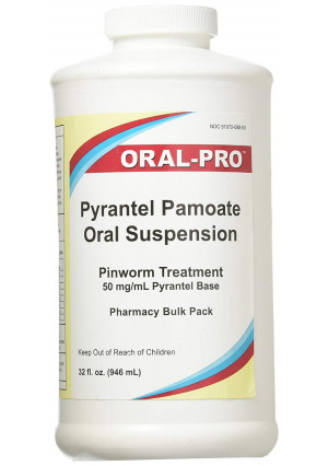 Oral Pro Pyrantel Pamoate Oral Suspension 50mg/mL 32 ounce