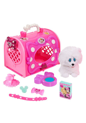 Minnie Happy Helpers Pet Carrier, Pink/White