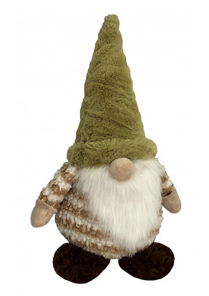 Petlou Durable Plush GNOME Dogs and Cats Toys with Multi-Squeak and Crinkle in Different Size