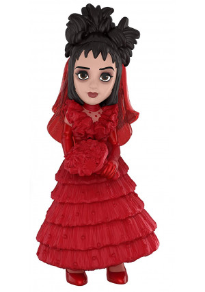 Funko Rock Candy: Beetlejuice Horror - Lydia (Red Wedding Dress) Collectible Figure, Multicolor
