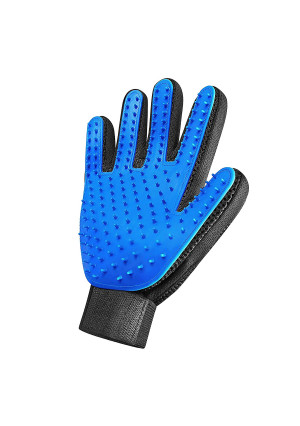 [Enhanced Edition] Pet Grooming Glove - For Dogs and Cats. Gentle Deshedding Brush, Massaging tool, Efficient Pet Hair Remover, Perfect for Long and Short Fur. Pet massage glove, Deshedding Bath Brush.