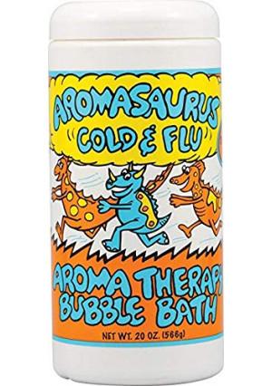 Abra Therapeutics Aromasaurus Therapeutic Cold and Flu Bubble Bath -- 16 fl oz