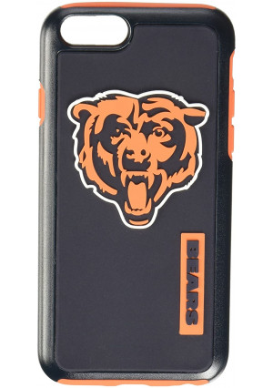 """Forever Collectibles Licensed NFL Cell Phone Case for Apple iPhone 6/6s 4.7"""" Screen Only - Retail Packaging - Chicago Bears"""