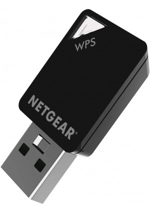 NETGEAR AC600 Dual Band WiFi USB Mini Adapter (A6100), Black