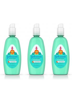Johnson's No More Tangles Tear-Free Toddler and Kids Detangling Spray, Paraben-Free, 10 fl. Oz (Pack of 3)