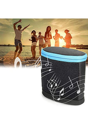 Case for Bose SoundLink Color Bluetooth Speaker II and Bose SoundLink Color Bluetooth Speaker, Portable Sound Through Design, Tailor Made and Easy to go Carabiner, Light Weight (Black with Blue Zip)