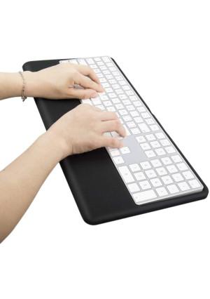 Magic Keyboard Wrist Rest Ergonomic Keyboard Stand Compatible with Wireless Magic Keyboard 2 with Numeric Keypad (Black Silicone)...