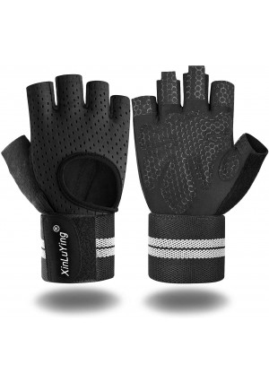 Xinluying Workout Gloves for Men Women - Gym Training Gloves for Fitness Exercise Weight Lifting Crossfit Bodybuilding