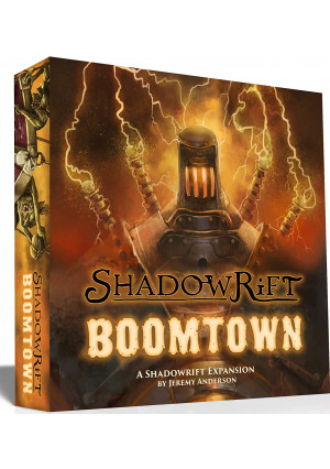1st EditionBoard Game Shadowrift: Boomtown Expansion